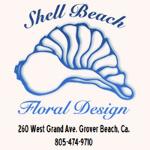SHELL BEACH FLORAL DESIGN
