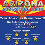 CBS Phoenix Arizona Adventure Card