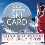 CBS Hartford Ski Card 1
