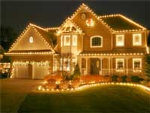 Neighbor Electric Christmas Lights Installation