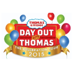 THOMAS THE TANK ENGINE - North Shore Scenic Railroad 2015