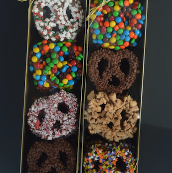 Gourmet Pretzels from the Chocolate Boutique in Monaca!