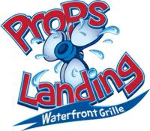 Props Landing Waterfront Grill: 1/2 $50