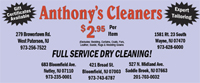 Anthony�s Cleaners