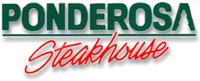 Half off at Ponderosa Steakhouse!