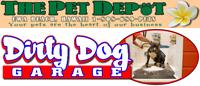 Dirty Dog Garage at The Pet Depot