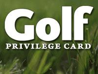 Golf Privilege Card