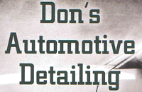 Don's Auto Detailing