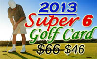 The Super Six Golf Card