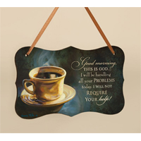 Coffee Break Mini Print with Ribbon HDF02