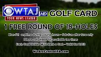 WTAJ Golf Card