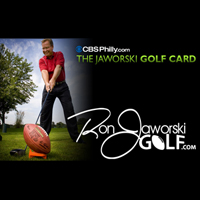 The Ron Jaworski CBS Golf Card