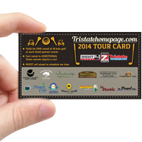 Tristatehomepage.com 2014 Golf Tour Card