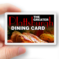 The 2014 Greater Plattsburgh Dining Card