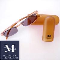 Madison & Mulholland - Amber 1.5x Sun Readers