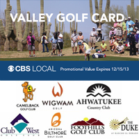 The CBS Phoenix Valley Golf Card