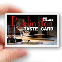 The 2014 Greater Burlington Diners Card