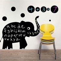 Chalkboard Decal in Fun Shapes- $17 with Free Shipping
