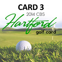 CBS Hartford Golf Card 3