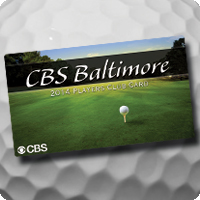 CBS Baltimore Players Club Card