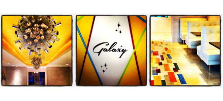 Galaxy   $25 Dinner Certificate only $12.50!