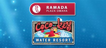Ramada Plaza Omaha and CoCo Key Water Resort