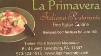 La Primavera Italiano Ristorante and Pizzeria
