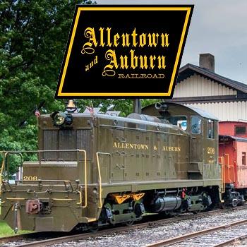 Allentown Auburn Railroad Train Rides