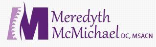 Dr. Meredyth McMichael, DC, MSACN
