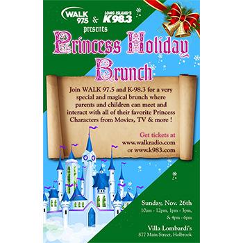 Princess Holiday Brunch - 1pm-3pm - Children