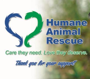 Humane Animal Rescue Coupon Card!