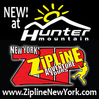 NY ZIPLINE Adventure Tours at Hunter Mountain