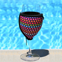 Wine Glass Koozie (2 Pack)- $13 with Free Shipping
