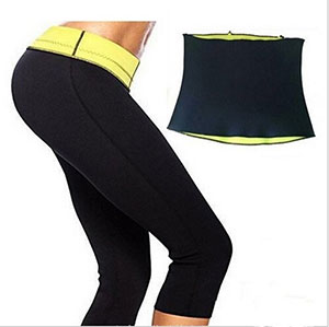 Saunafit Slimming Thermal Neoprene Sports Capri Pants- $20 ...