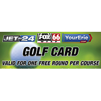 YourErie.com Golf Card