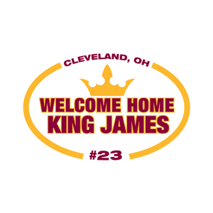 Welcome Home King James