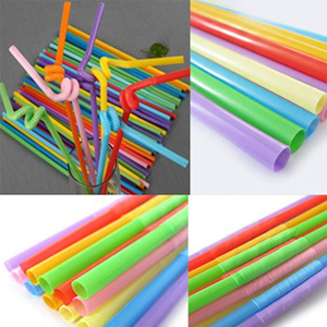 100 Multi-Color Long Bendy Straws - $7 with FREE Shipping!