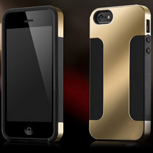 Hybrid PVC Plus Silicon Double Layer Case for iPhone 4/4S & 5/5S - $10 with FREE Shipping!