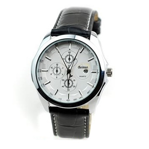 Men's Fashion Quartz Watch w/ Auto Date - $21 with FREE Shipping!