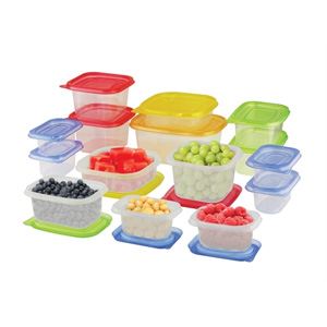30-Piece BPA-Free Food Storage Set- $23 with Free Shipping