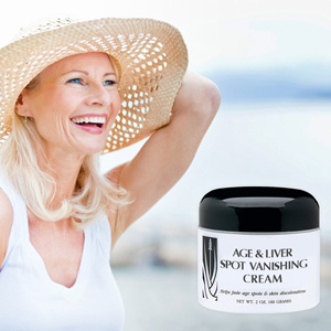 Age & Liver Spot Vanishing Cream - $16 with FREE Shipping!