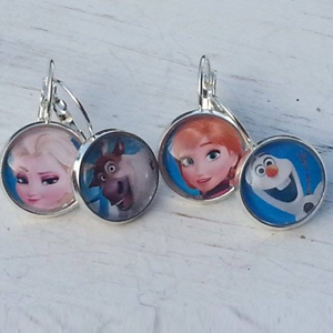Frozen Inspired Character Earrings- $10 with Free Shipping