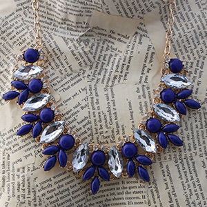 Jeweled Statement Necklace- $9.50 with FREE Shipping