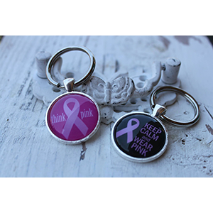 Breast Cancer Awareness Keychain-  $9.50 with FREE Shipping