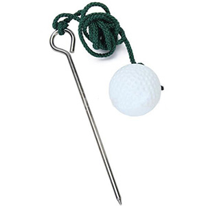 Solid Swing Trainer's Golf Ball w/ String - $9 with FREE Shipping!