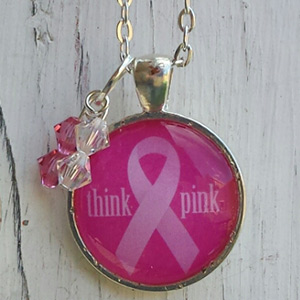 Breast Cancer Awareness Necklace  $11 with FREE Shipping