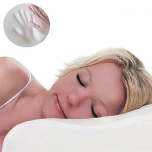 Sweet Dreamz Contour Memory Foam Pillow with Super Soft Pillowcase- $25 with Free Shipping