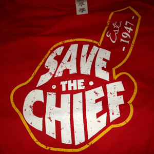 Save the Chief T-Shirt - $19 with FREE Shipping!