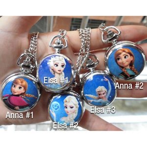 Frozen Inspired Necklace Watch - $11 with FREE Shipping!