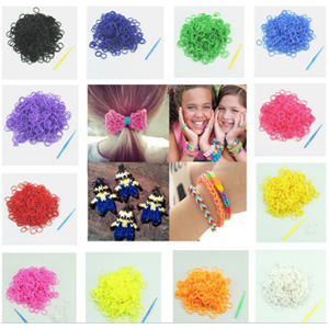 Loom Band Refills - TWO 600 Piece Packs - $8 with FREE Shipping!